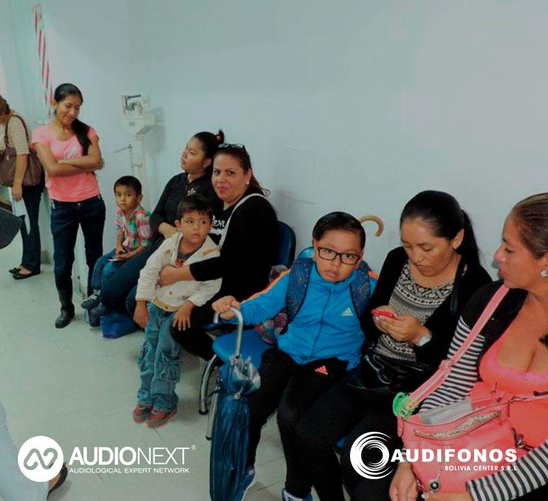 2ª Jornadas pediatricas de perdida auditiva y microtias en Bolivia.